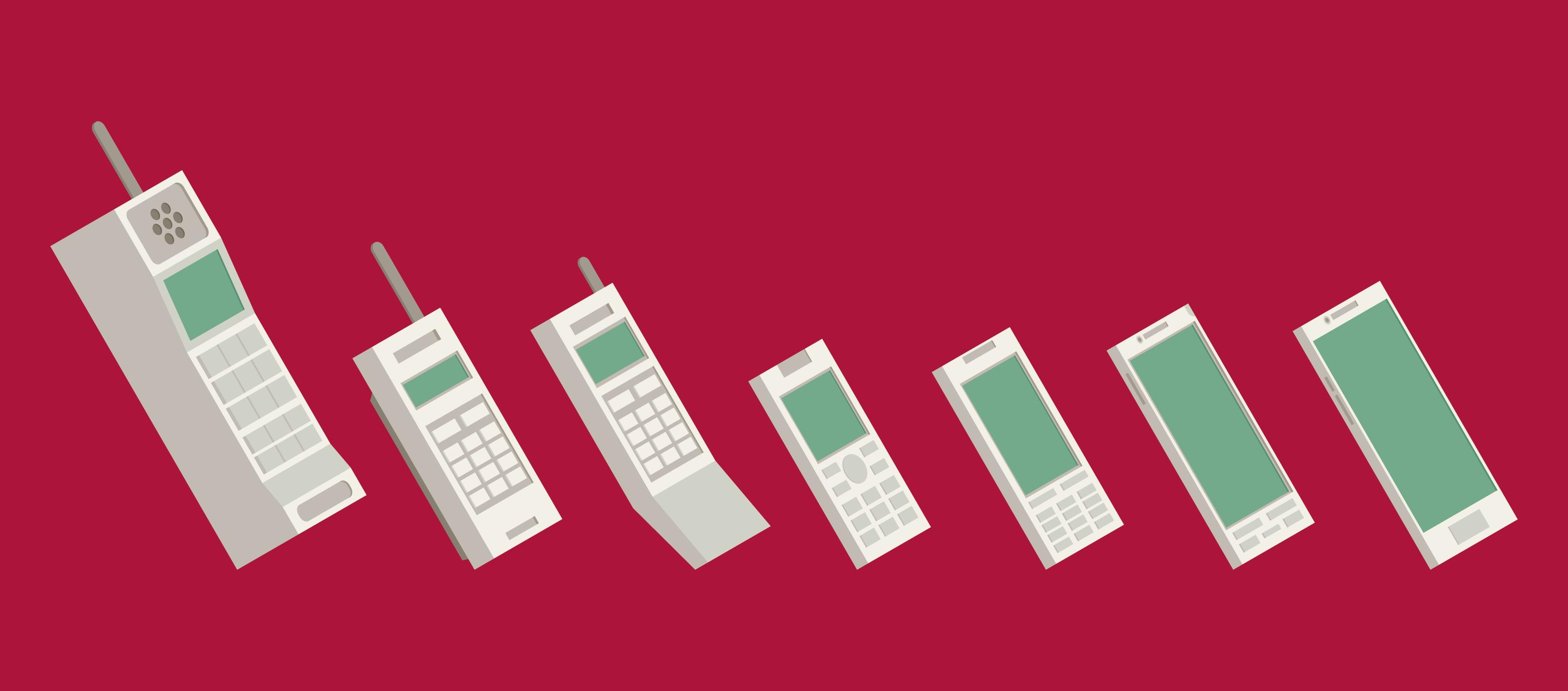 La evolución del celular como dispositivo de comunicación